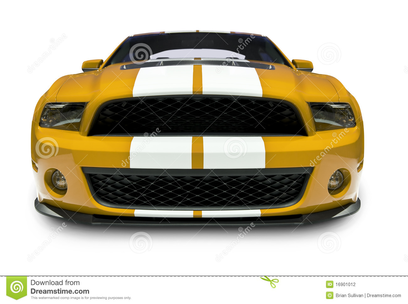 Sports Car Front View Stock Photo 16901012 Megapixl