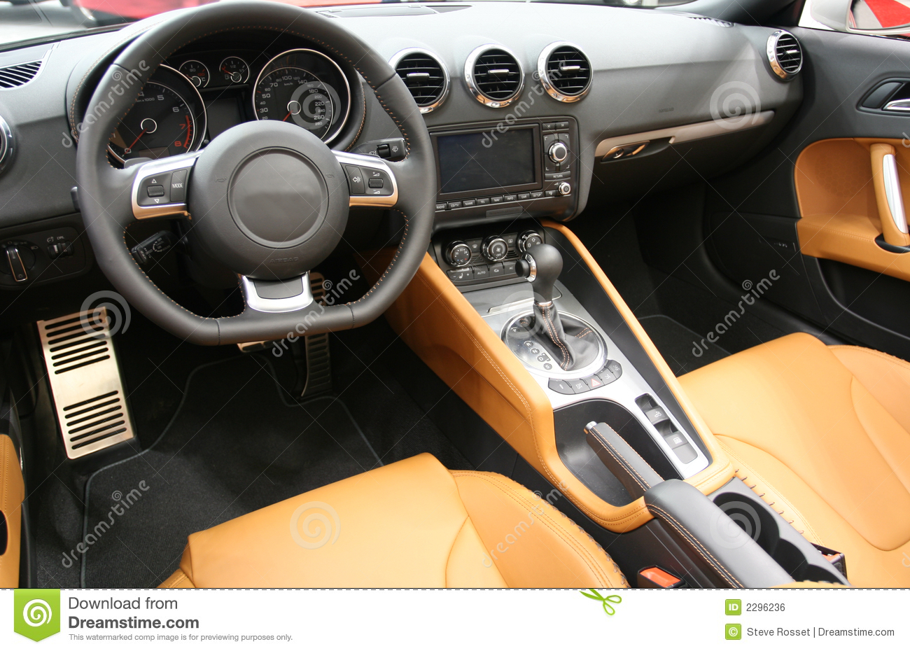 Sports car interior stock photo image of design modern - Car interior design ...