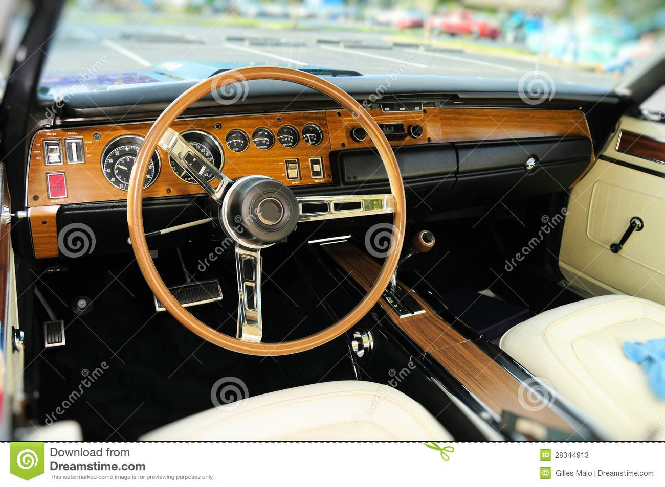 sports car interior in swede leather stock image 26033413. Black Bedroom Furniture Sets. Home Design Ideas