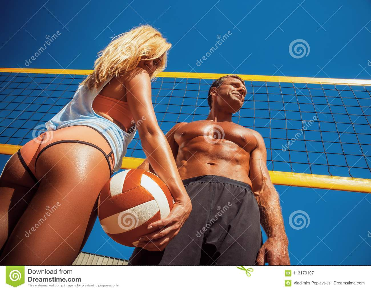 Site question sexy blonde volleyball player