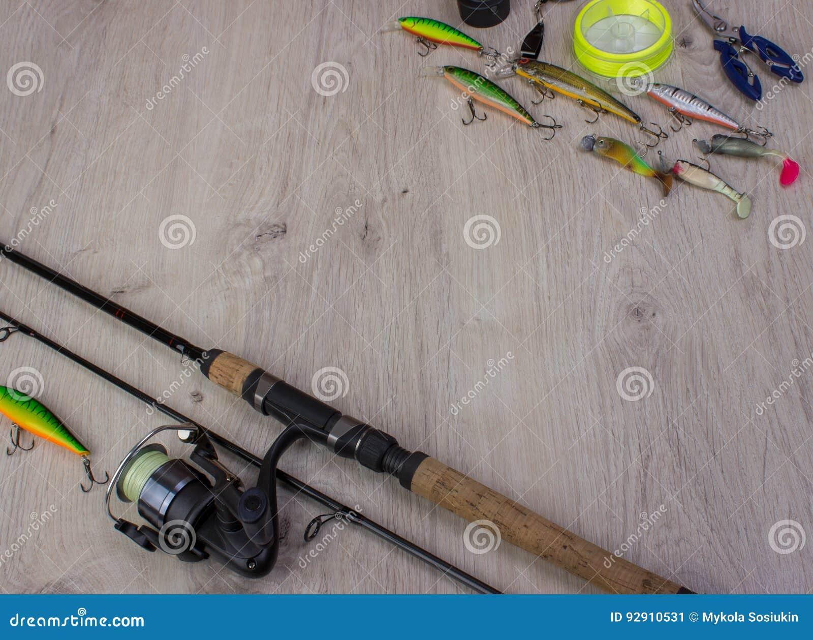 Sports fishing background