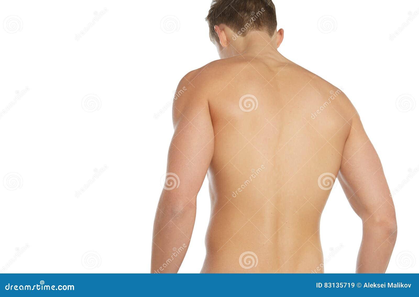 Naked human body