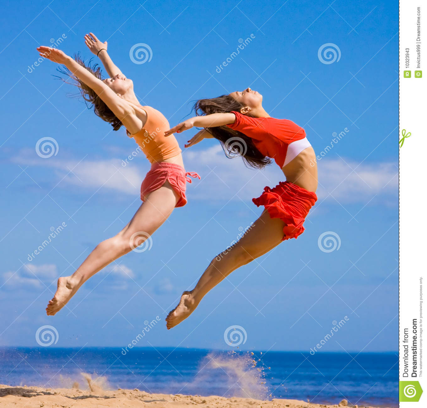 Sports Girls Stock Image. Image Of Active, Outdoor, Nature