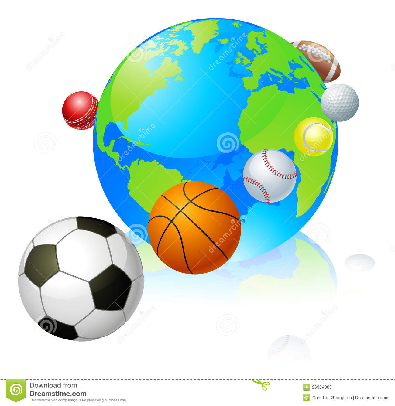 sports globe world concept stock photo image 26384380 football player clipart black and white football players clip art images