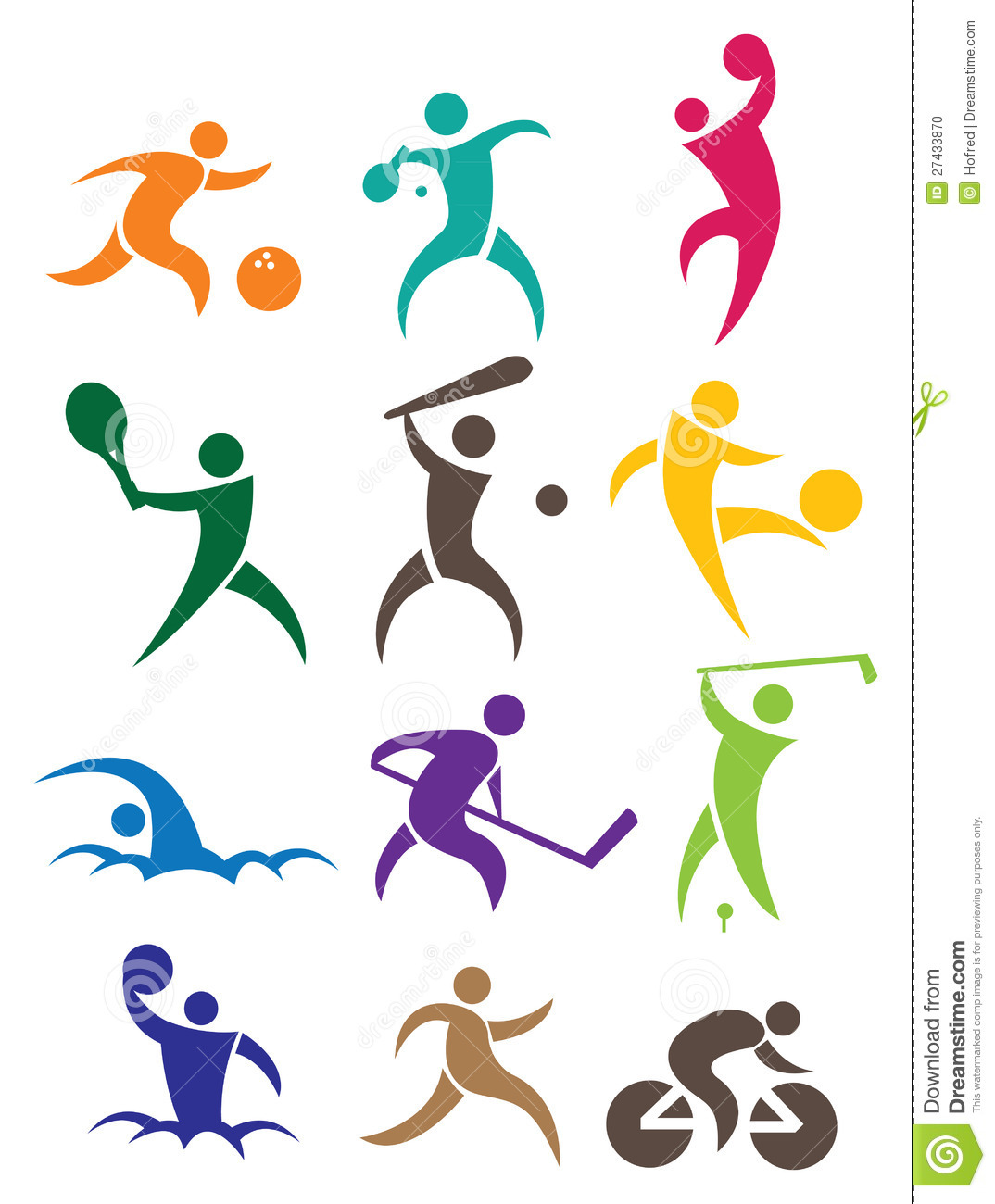 sports icon stock vector illustration of fitness football clip art free football clip art free
