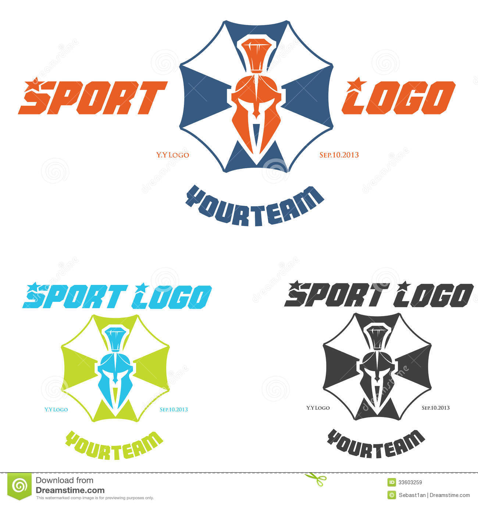 sports logo royalty free stock images image 33603259