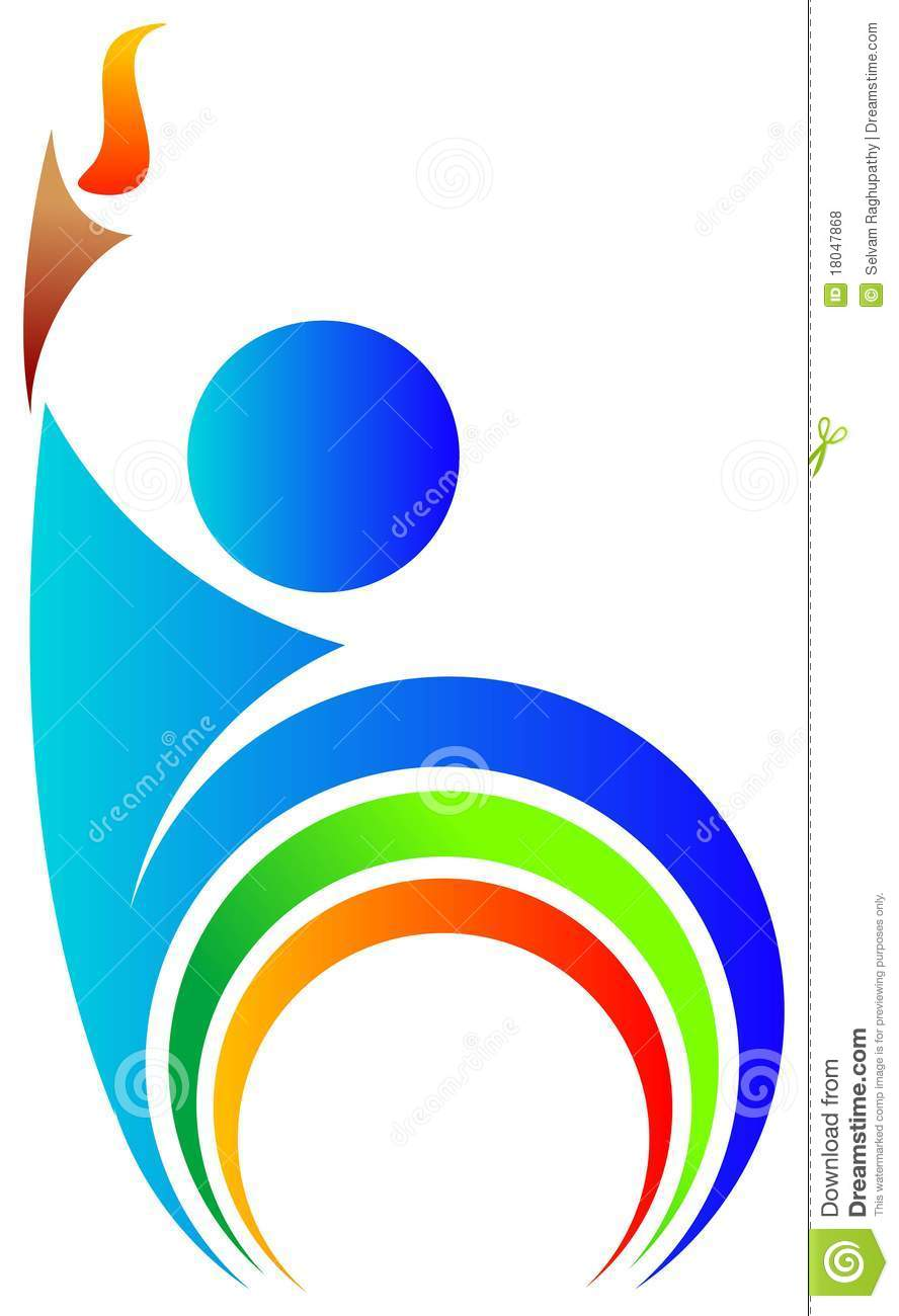 Sports Torch Stock Illustrations – 429 Sports Torch Stock ... for sports torch logo  45gtk