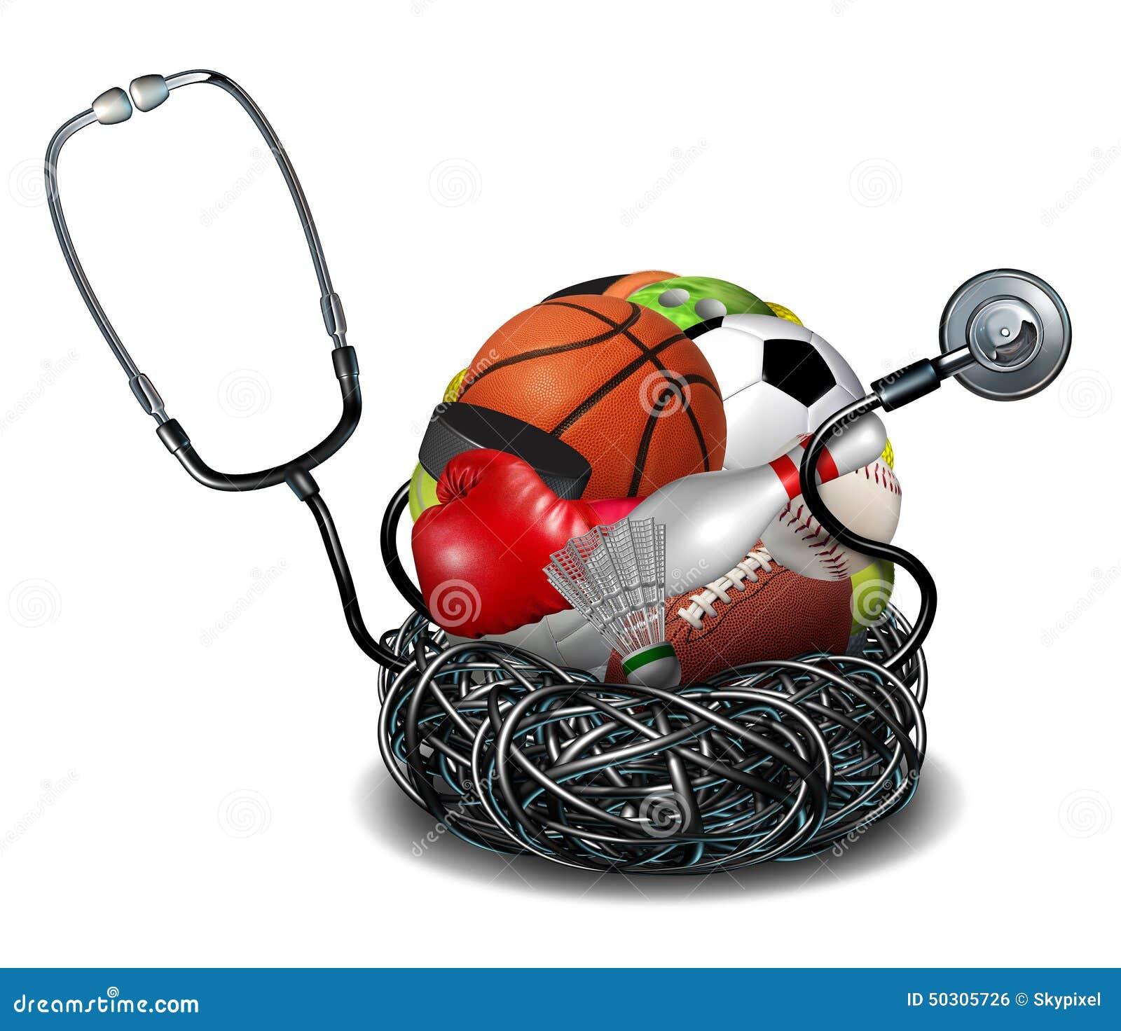 Sports Medicine Stock Illustration Illustration Of Athletics 50305726