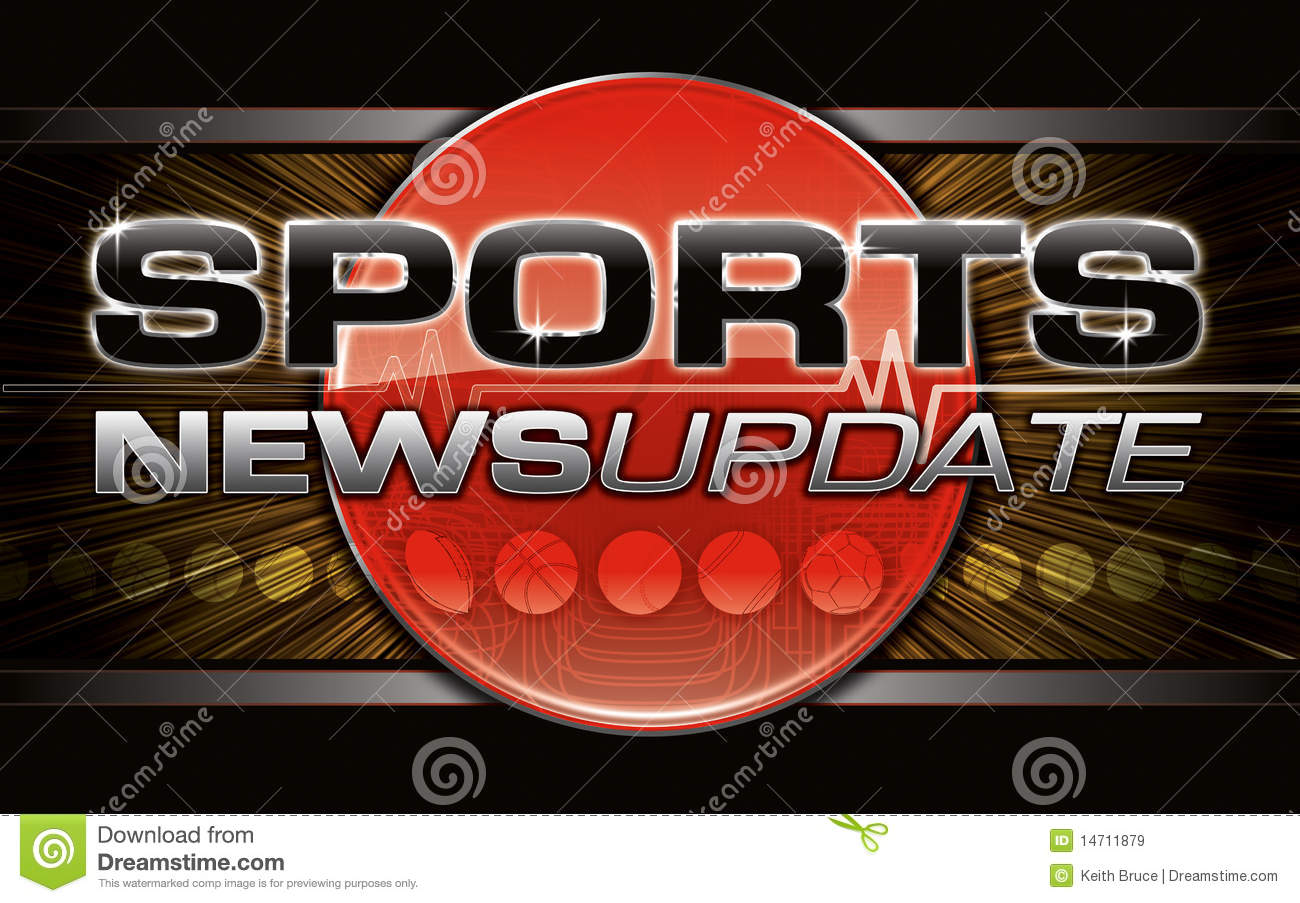 Sports News Graphic Royalty Free Stock Images - Image ...