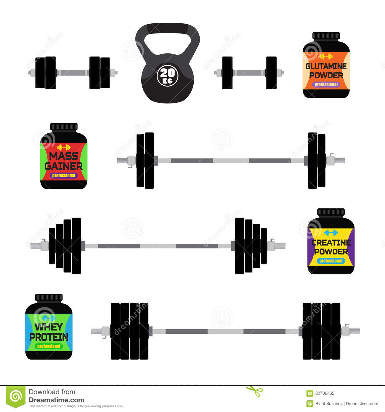 Sports Nutrition, Supplements, Barbells, Whey Protein