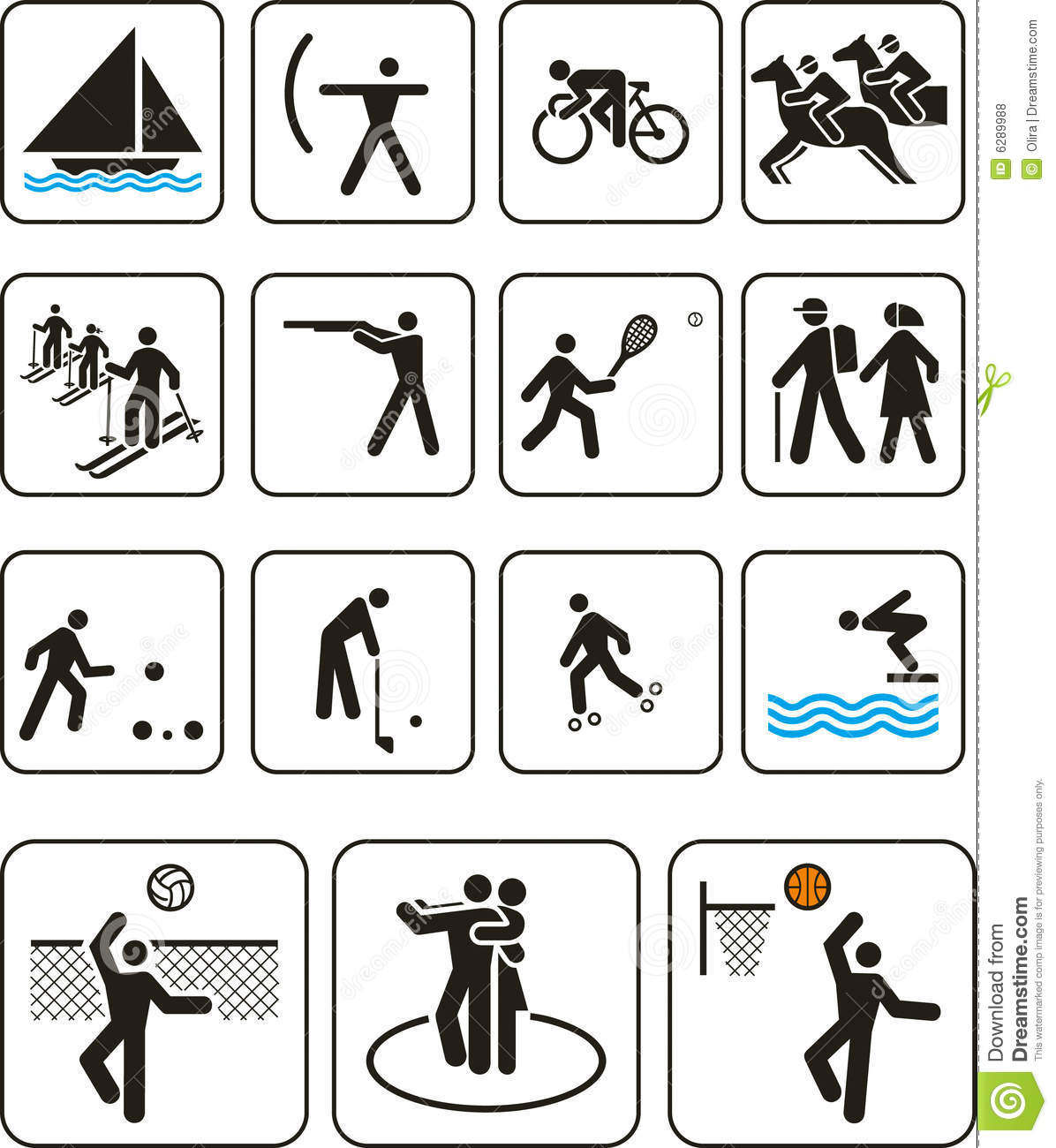 sports games signs olympic vector illustration preview