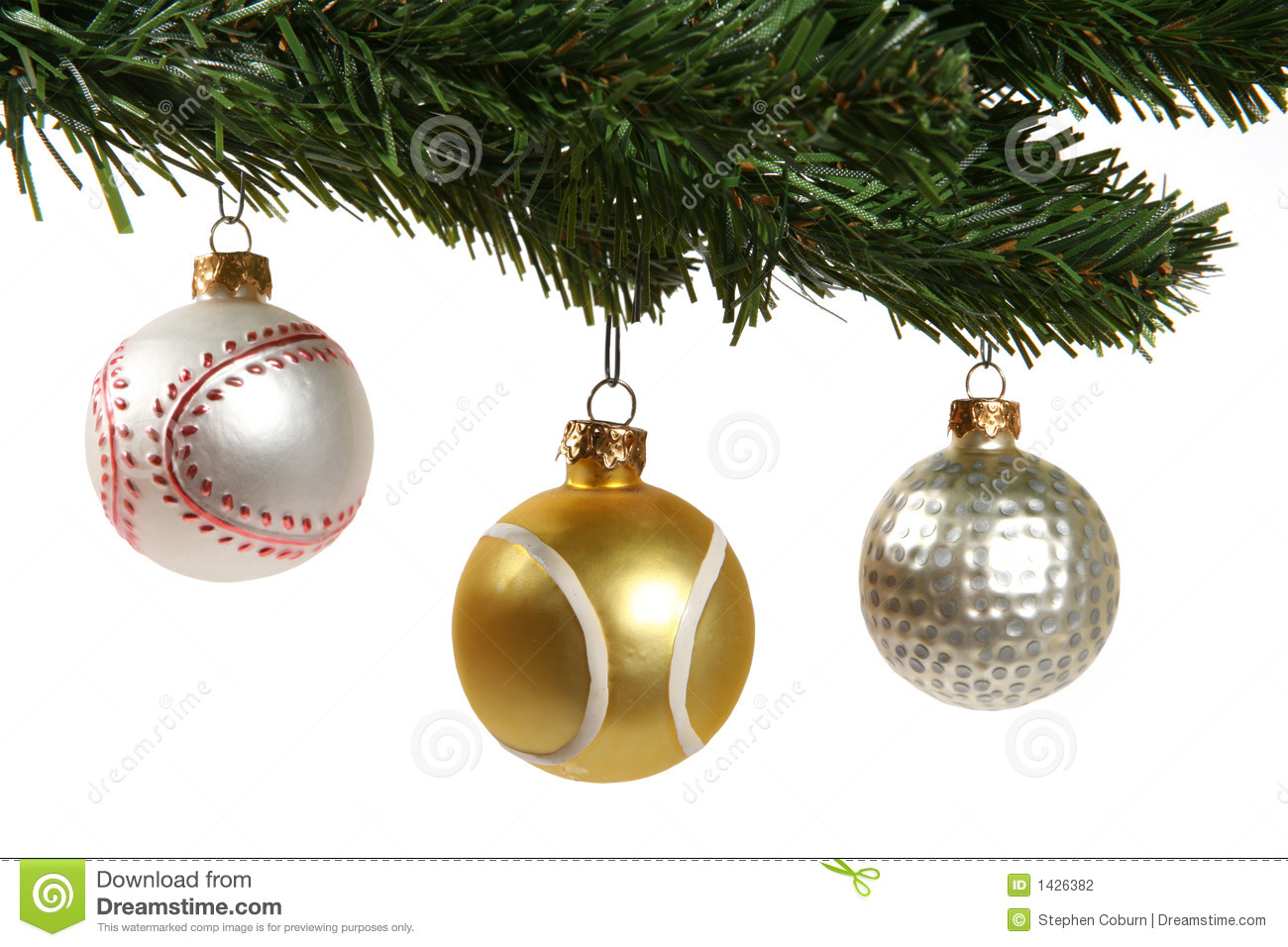 Sports Ornaments Stock Photography Image 1426382