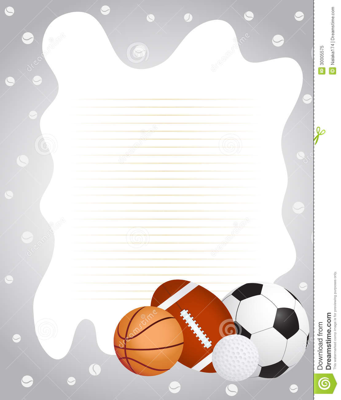 royalty free stock photo sports frame image 30005575 basketball borders and frames