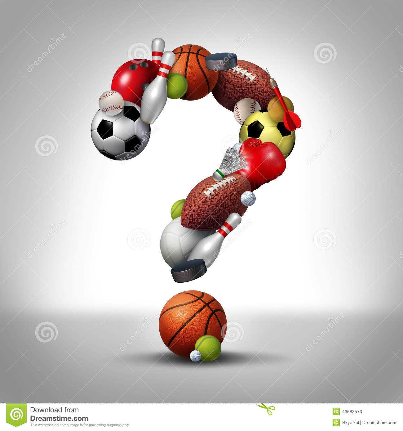 Sports Question stock illustration. Illustration of ...