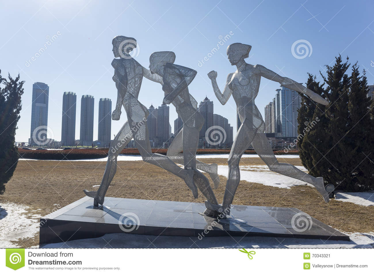Sports Sculpture Editorial Photo Cartoondealer Com 70343329