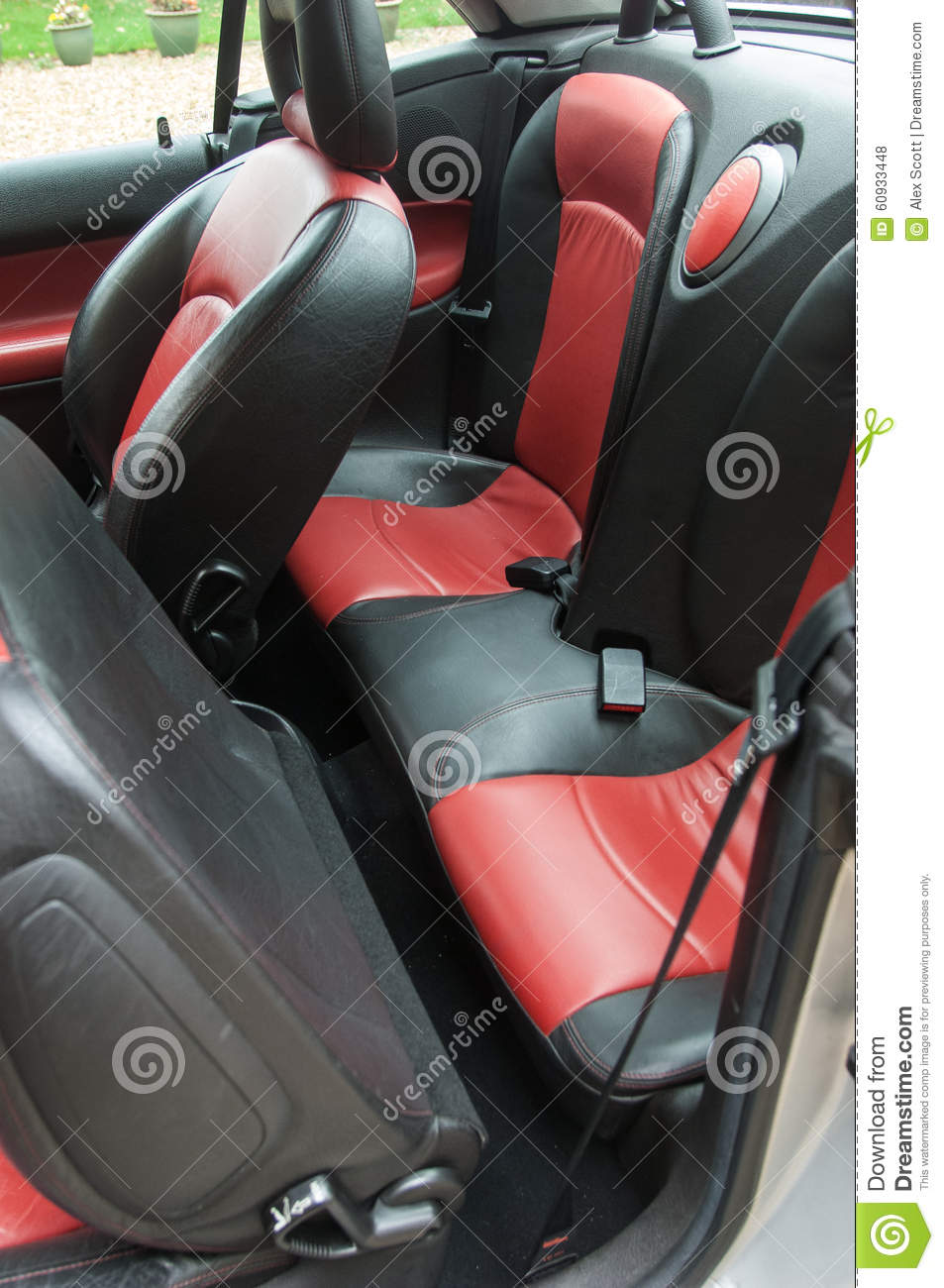 sports seats in a car stock photo image of track colour 60933448. Black Bedroom Furniture Sets. Home Design Ideas