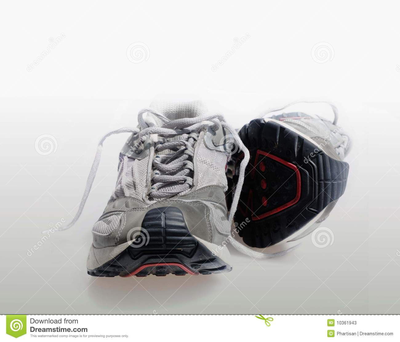 sports shoes trainers sneakrer stock photos image 10361943