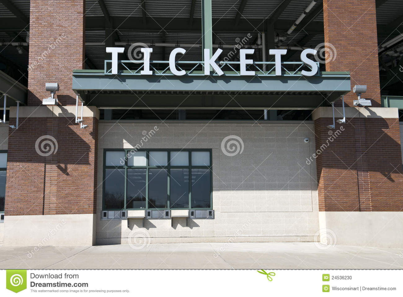 sports stadium tickets box office game ticket stock photo image 24536230. Black Bedroom Furniture Sets. Home Design Ideas