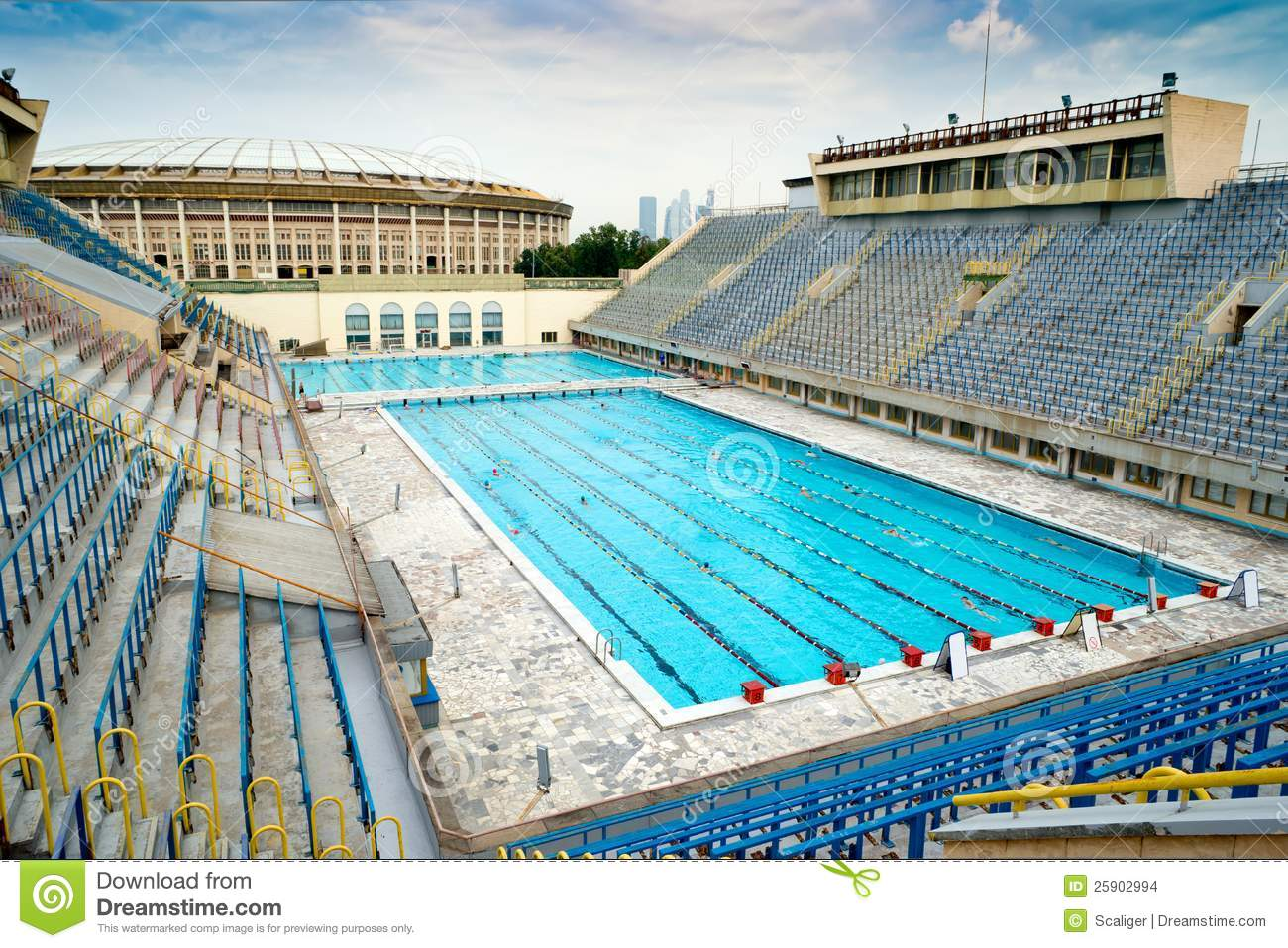 Sports swimming pool in moscow stock images image 25902994 for Sport pools pictures