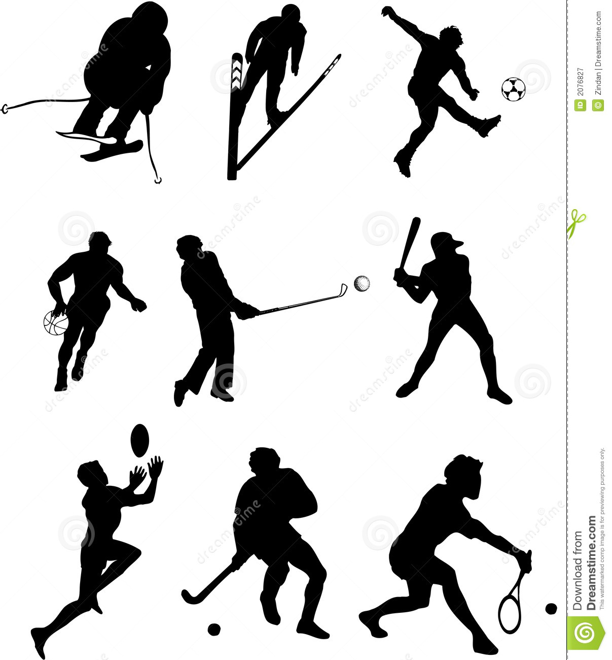 sports types silhouettes stock vector image of tennis playing basketball silhouette vector basketball player silhouette vector