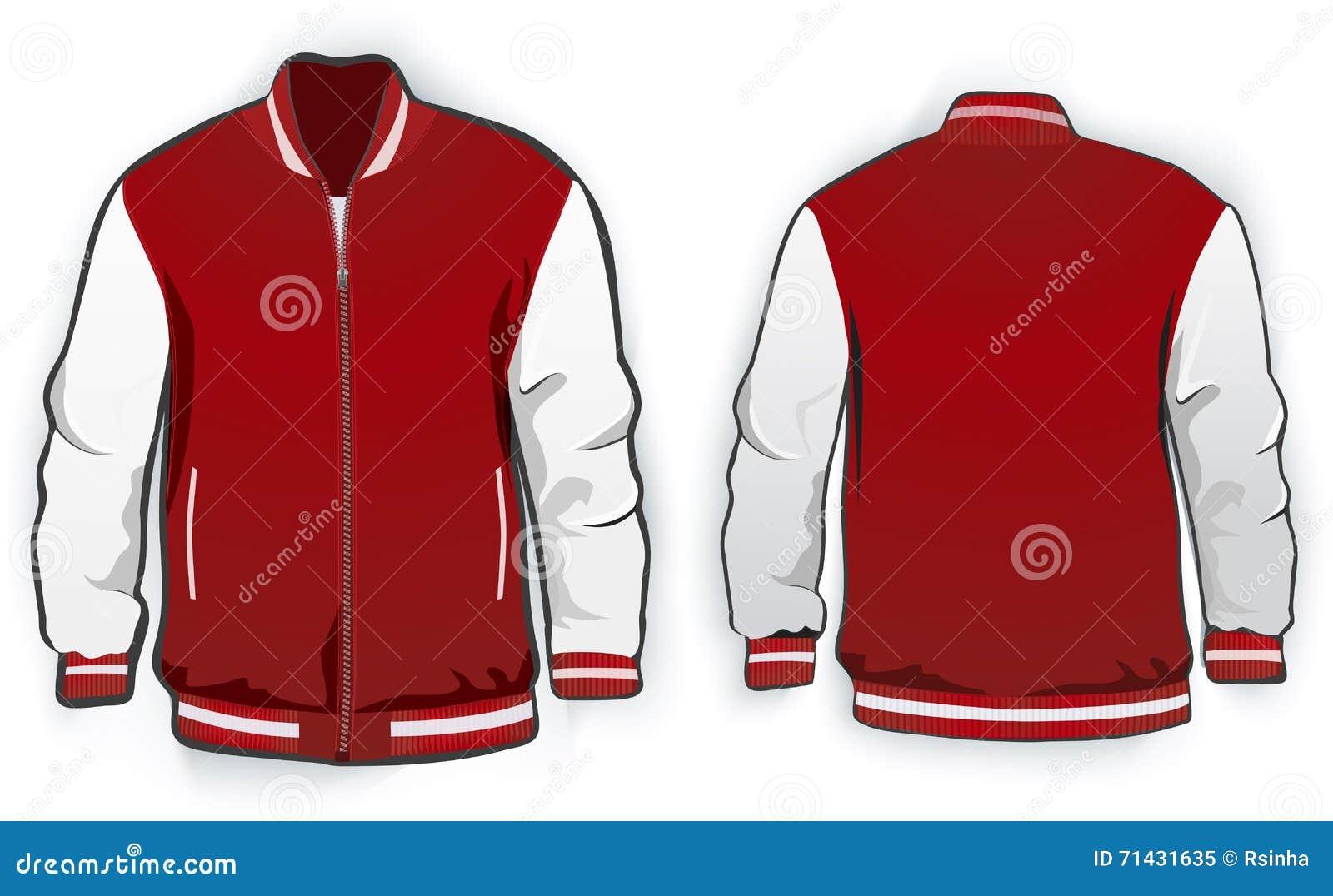 varsity jacket template stock illustrations 89 varsity jacket