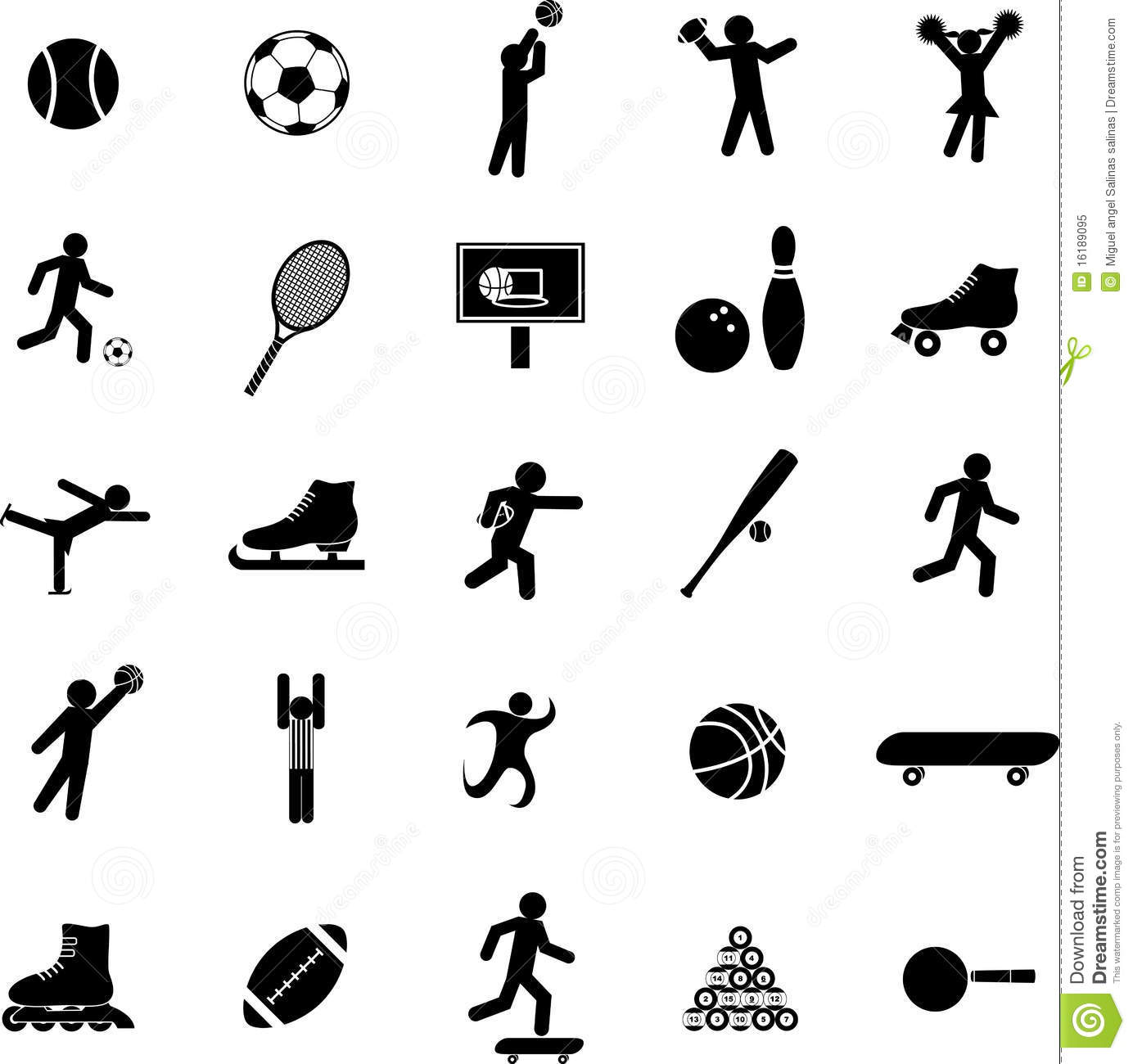 tennis stick figure