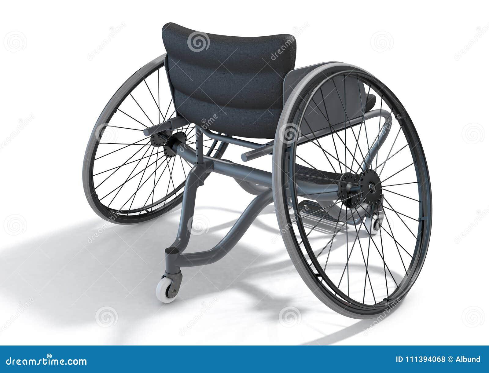 Sports Wheelchair stock illustration. Illustration of chair - 111394068