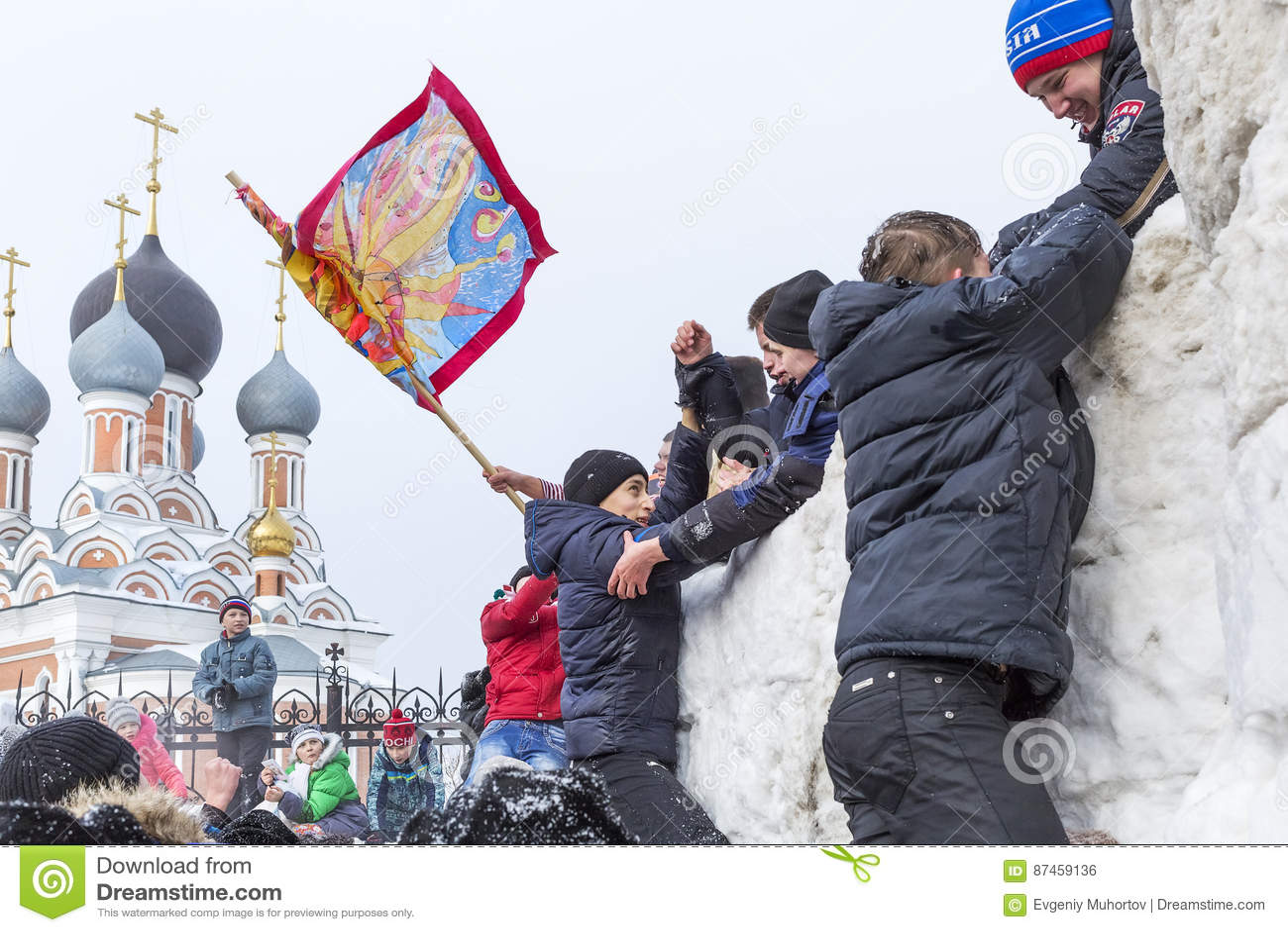 Sports winter game holiday of maslenitsa siberia russia editorial sports winter game holiday of maslenitsa siberia russia fight frost m4hsunfo