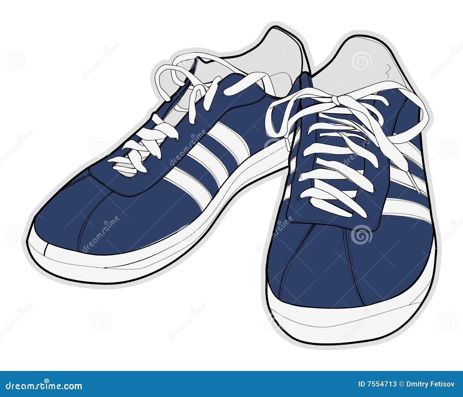 Kids Sneakers Clip Art