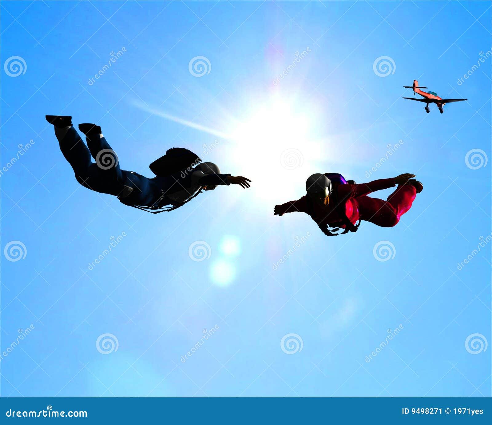 Sportsmen-parashutist