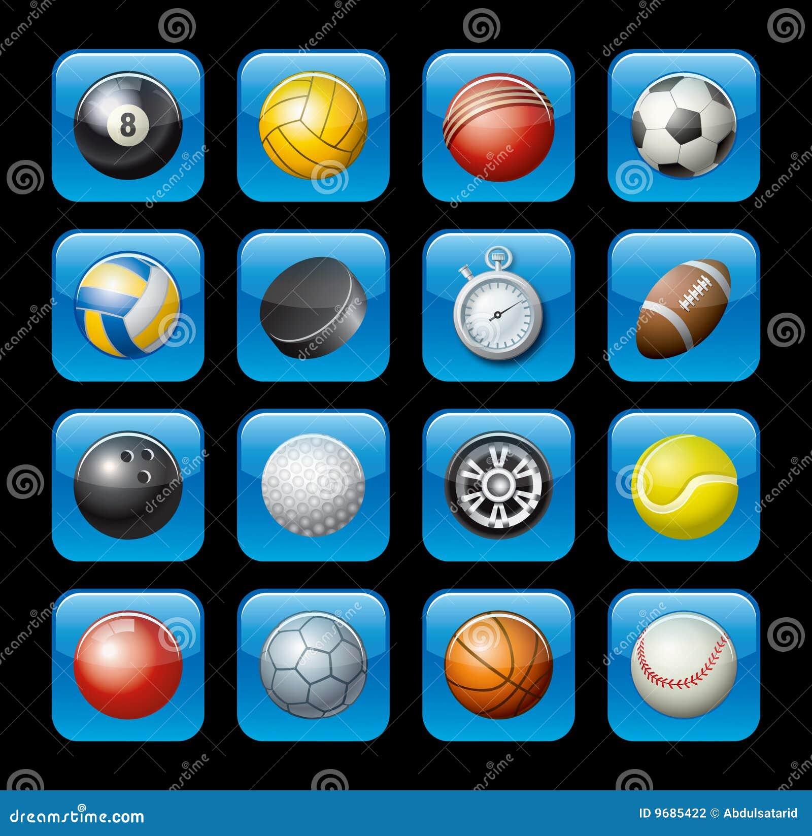 Sportutrustningsymboler