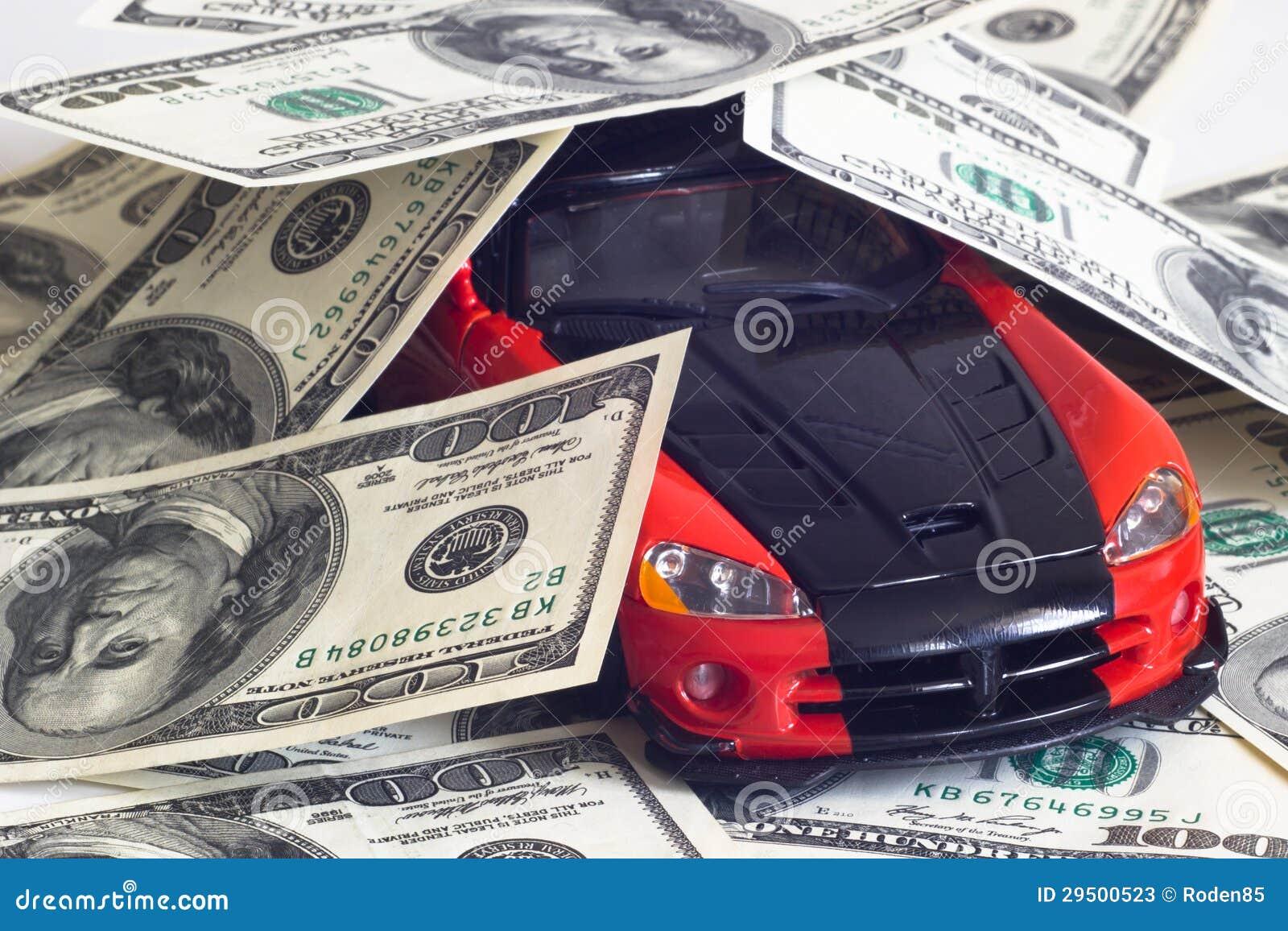 Sportwagen en geld