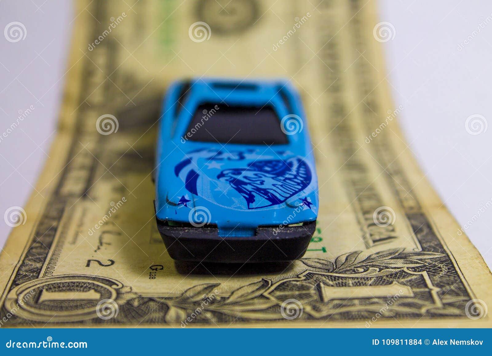 Sportwagen op de rekening