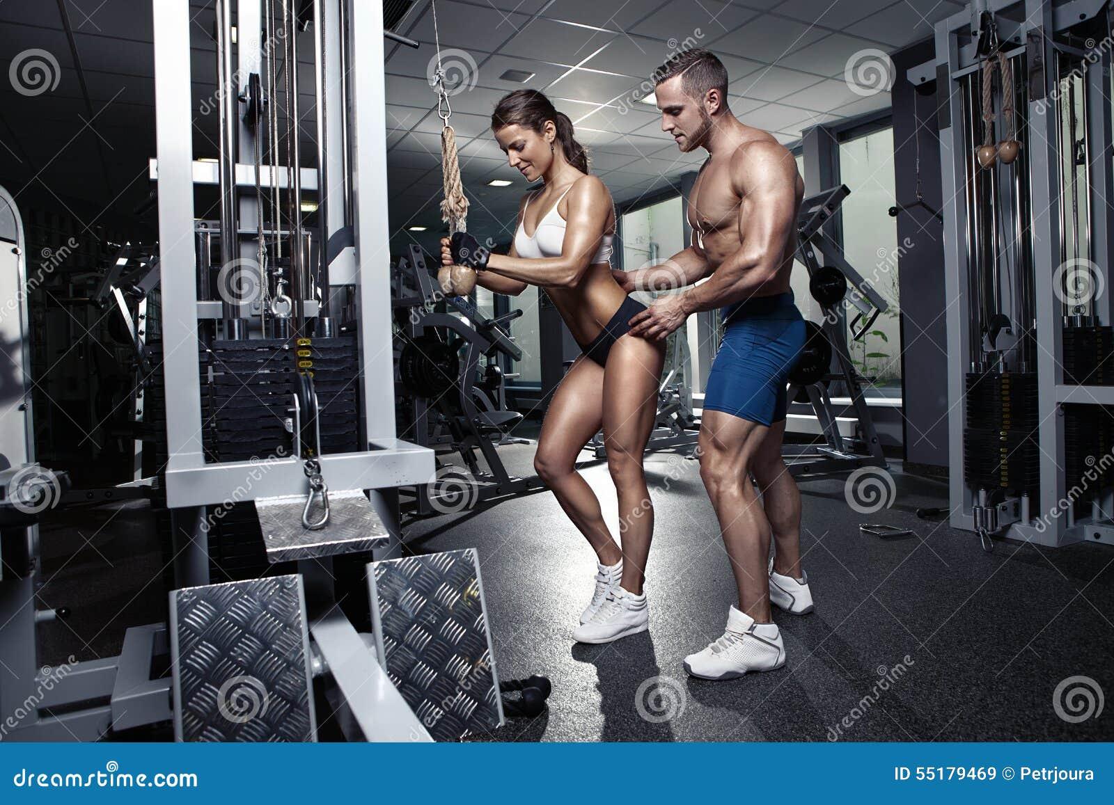 Секса в спортзал 4 фотография