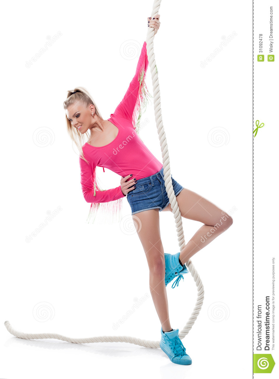 Women Tied Up With Rope Photos and Premium High Res