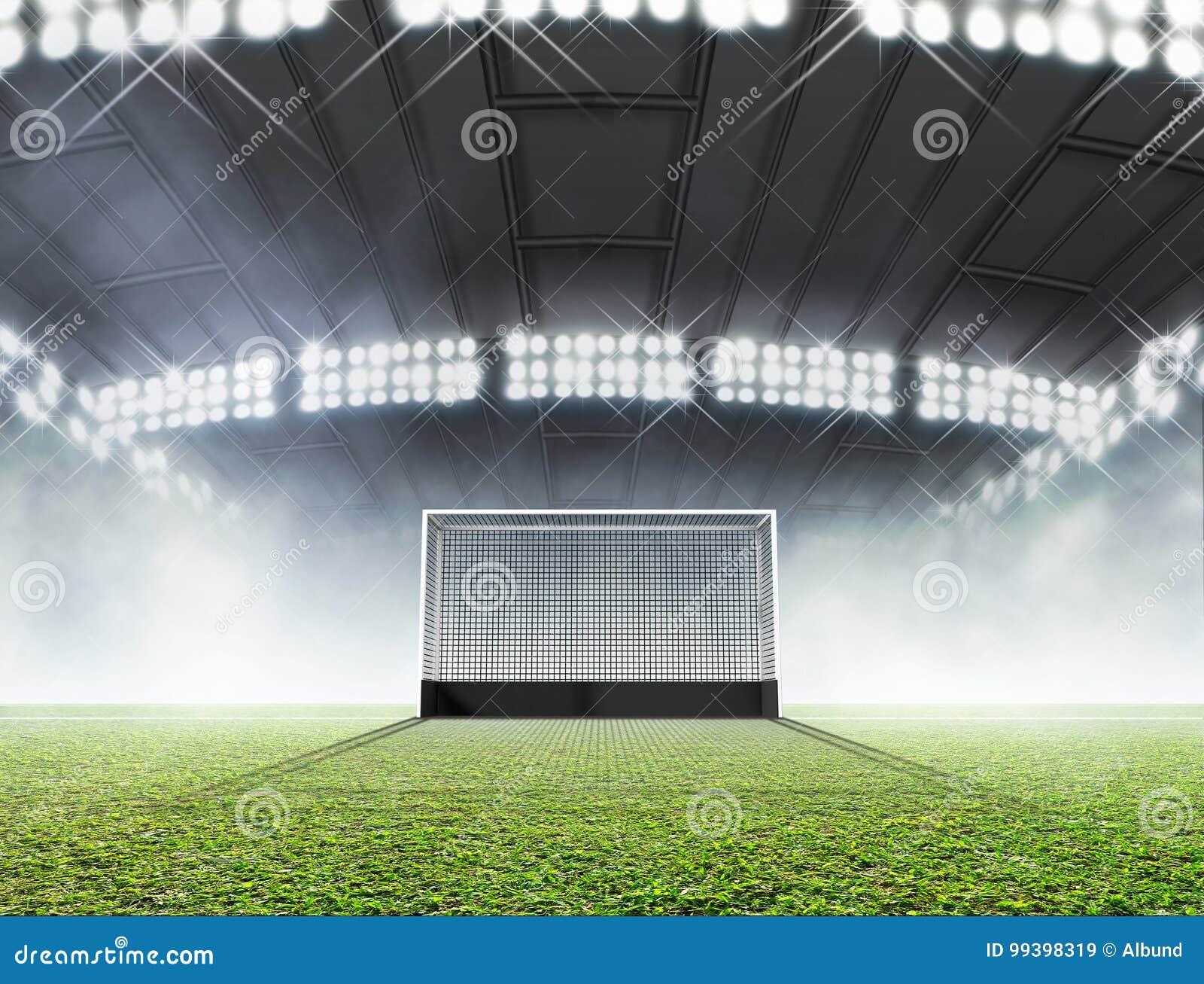 Sporty stadium I hokejów cele