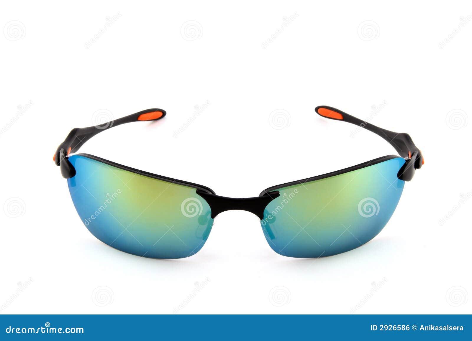 e828dd41f612 Sporty sunglasses on white stock photo. Image of plastic - 2926586