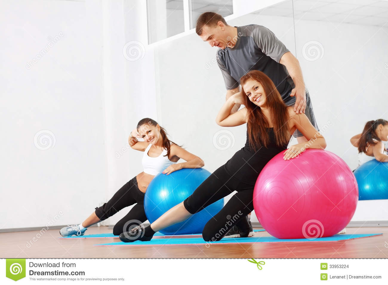 Sporty women with couch stock images image 33953224 for Sofa workout