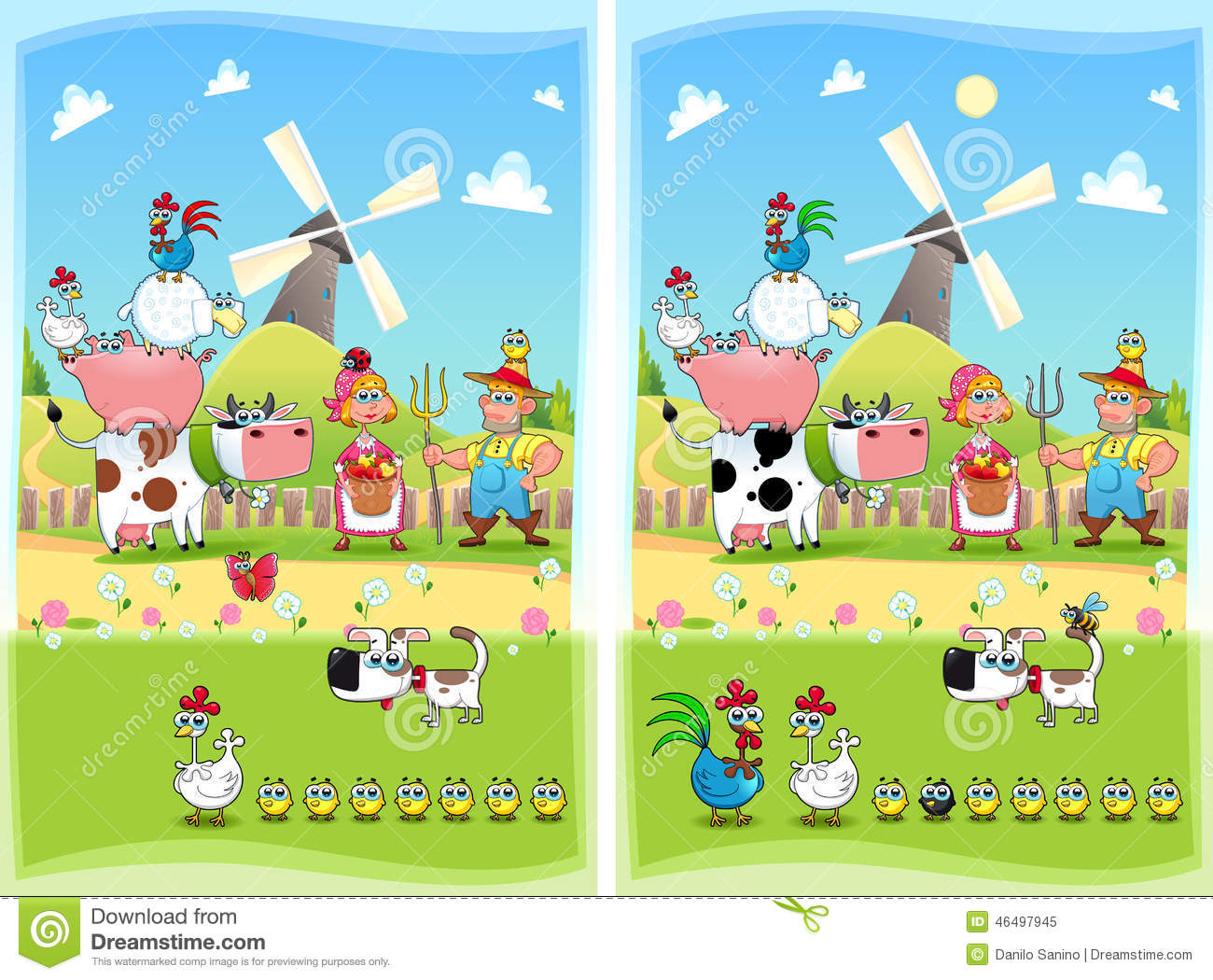 Find differences between two pictures for kids Find 10 Differences - Free online games at m