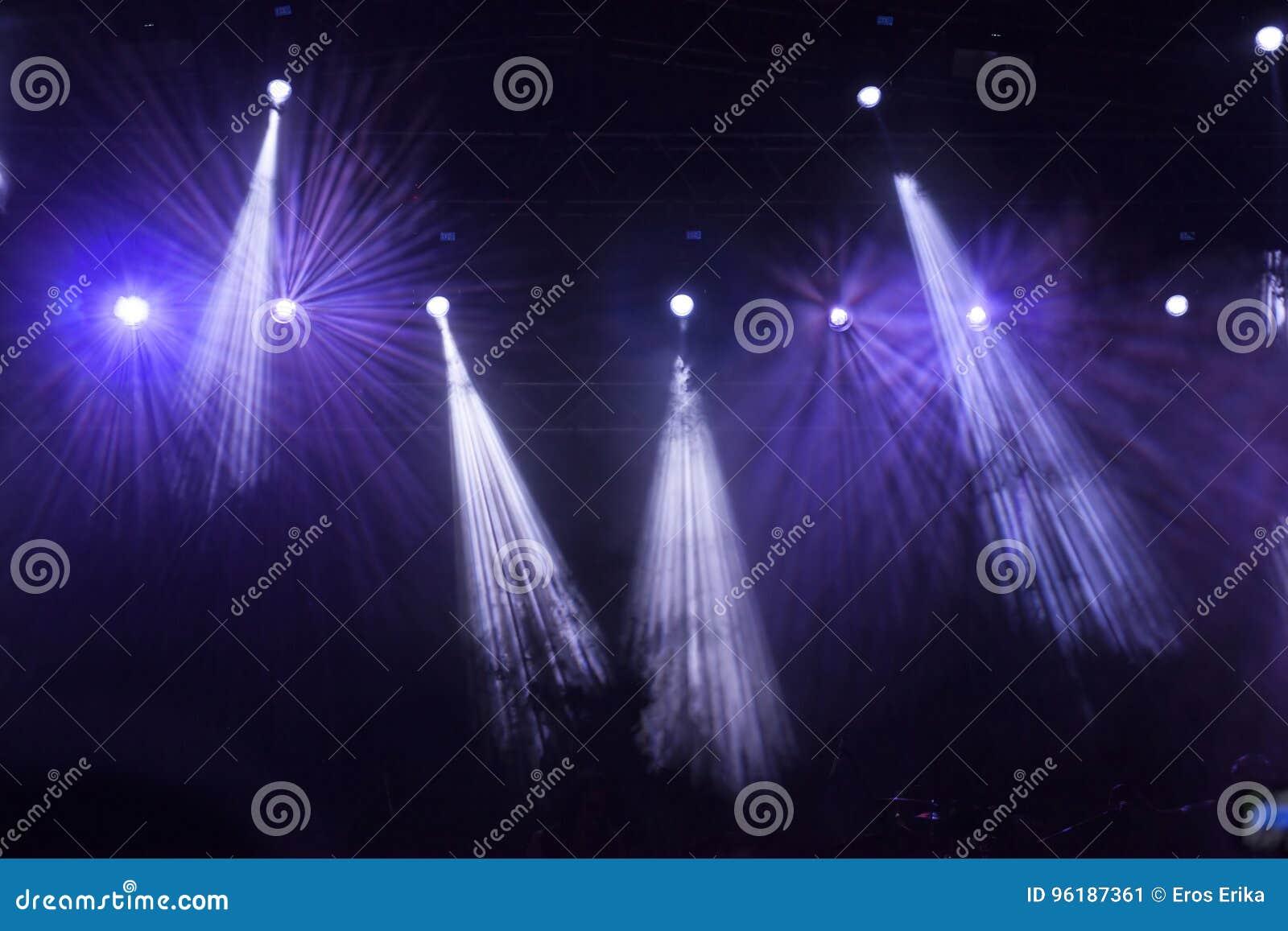 Spot Stage lights at concert