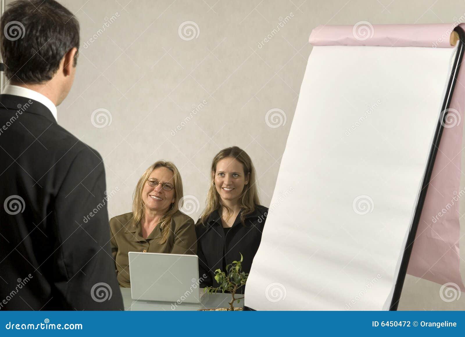 Spotkanie w interesach ludzi