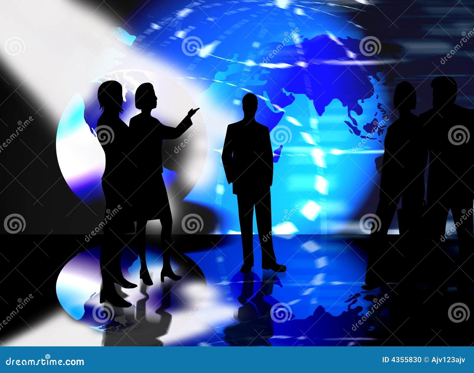 Spotkanie w interesach zespół ludzi
