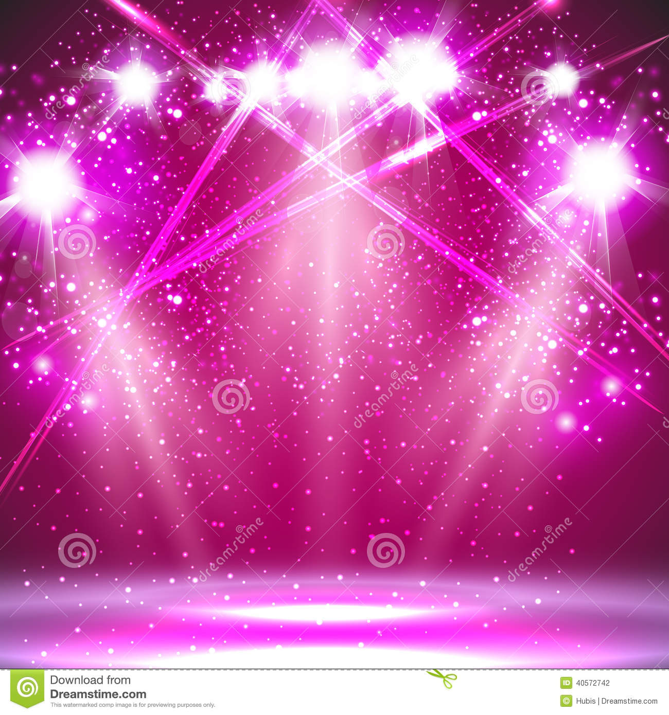 spotlight light background stock vector image 40572742