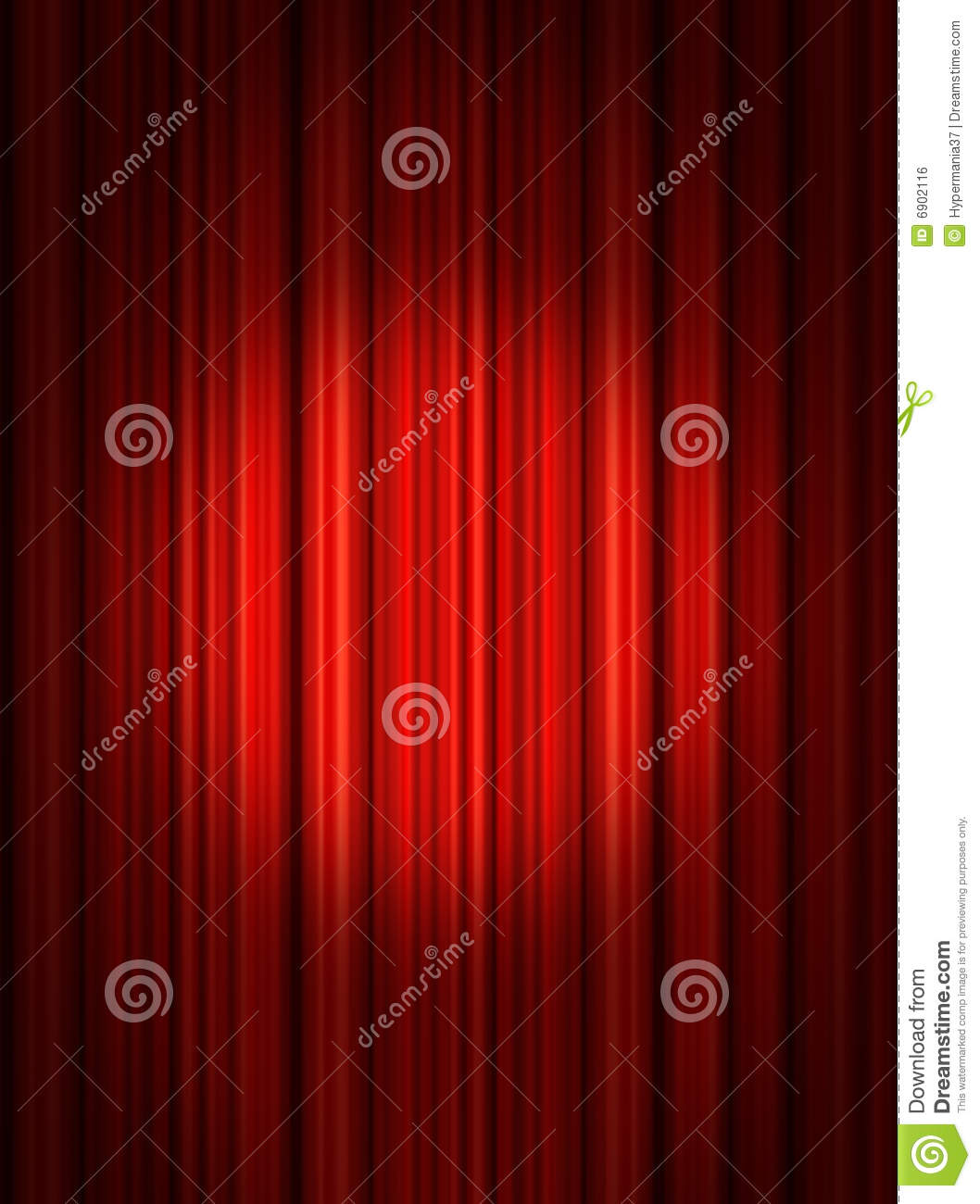 Stage curtains spotlight - Spotlight On Red Stage Spotlight On Stage Curtain