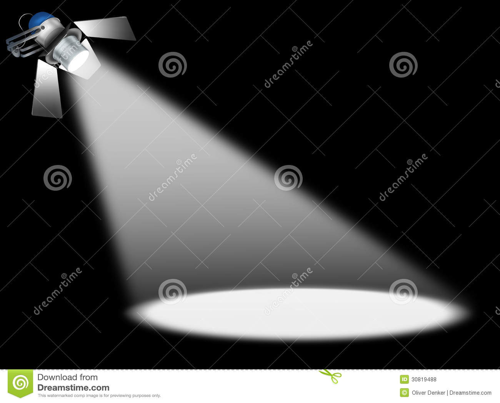 Spotlight Stage Stock Illustration Illustration Of Beam