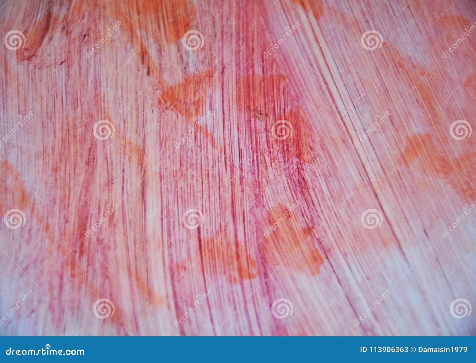 Spots rosa orange vit för vattenfärgen toner Abstrakt målarfärgvattenfärgbakgrund
