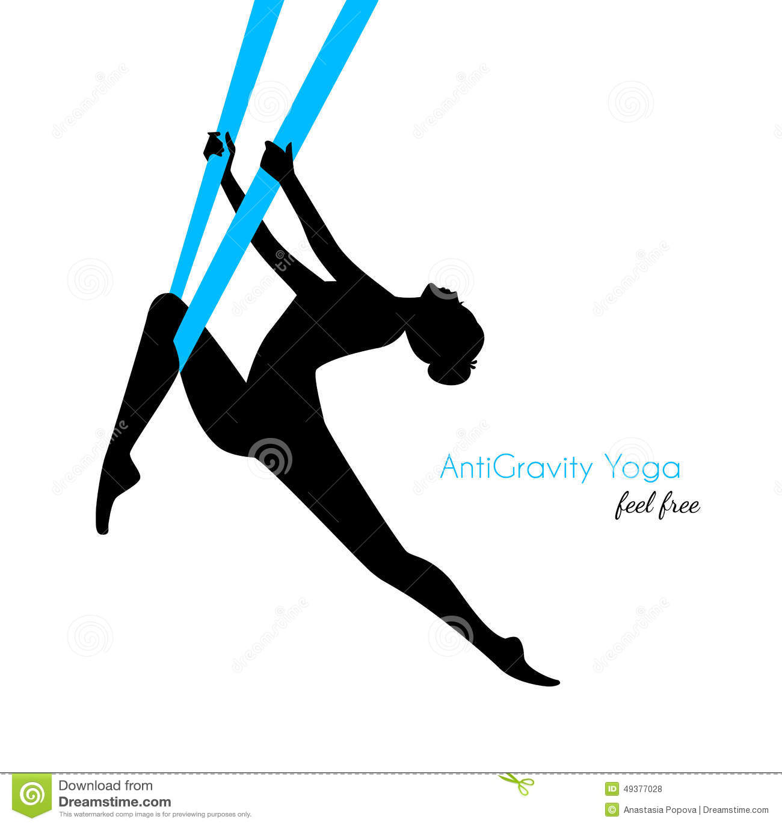 Spoważnienia joga poz kobiety sylwetka