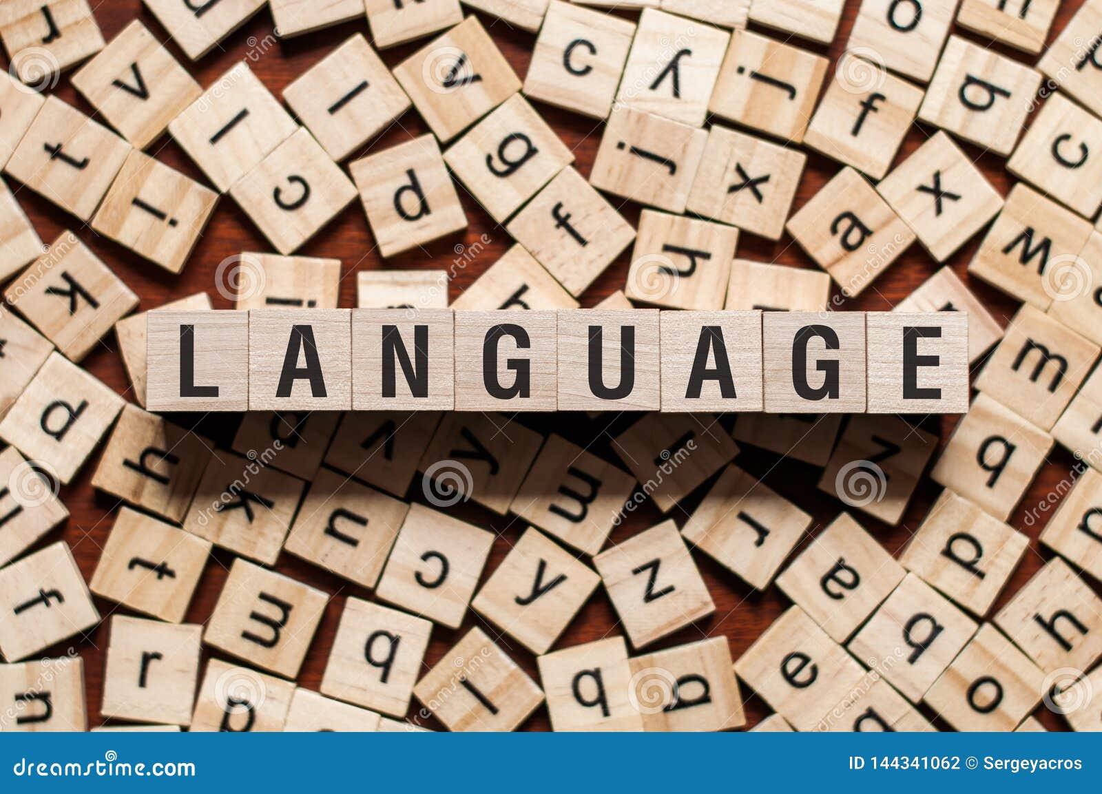 Språkordbegrepp