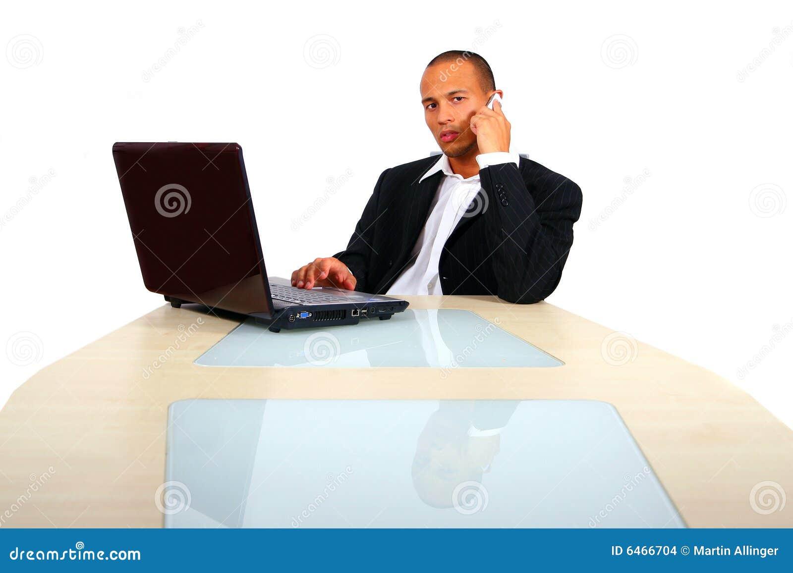 Sprawa jego laptopa człowiek pracował young