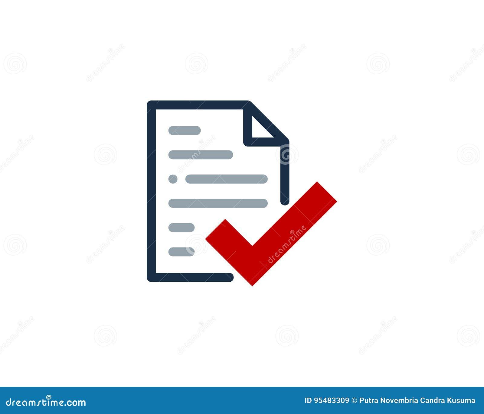 Sprawdza dokument ikony loga projekta element